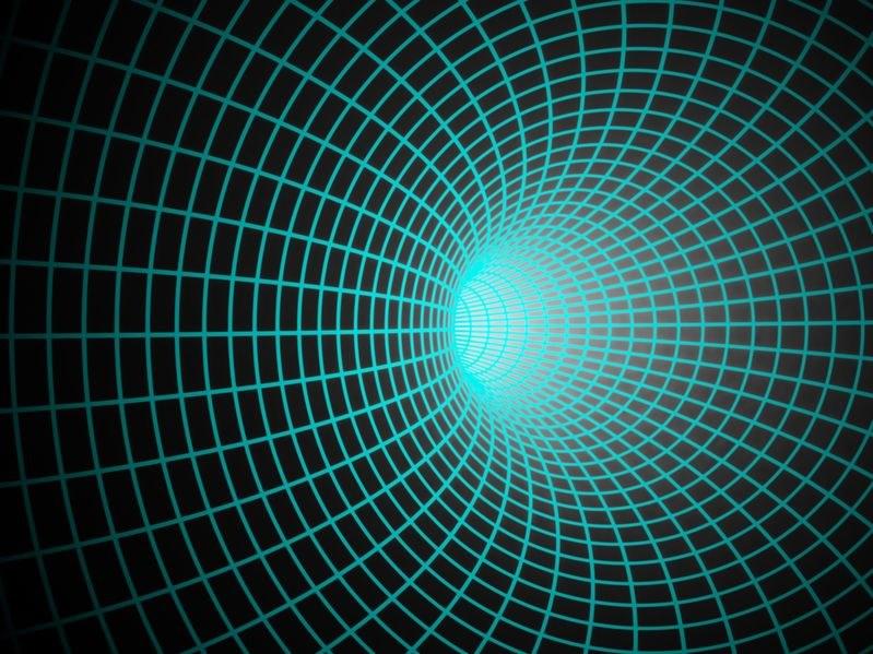 Zilong Li i Cosimo Bambi uważają, że tunele czasoprzestrzenne powstały tuż po Wielkim Wybuchu, a dziś znajdują się w centrach wielu galaktyk. /123RF/PICSEL