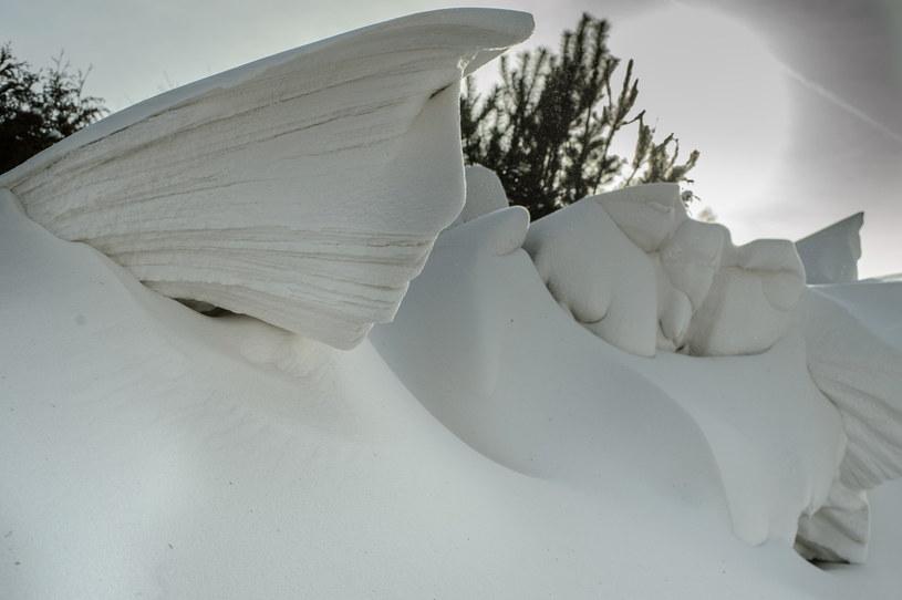 Zima na lubelszczyźnie /Wojciech Pacewicz /PAP