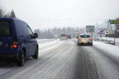 Zima na Podbeskidziu