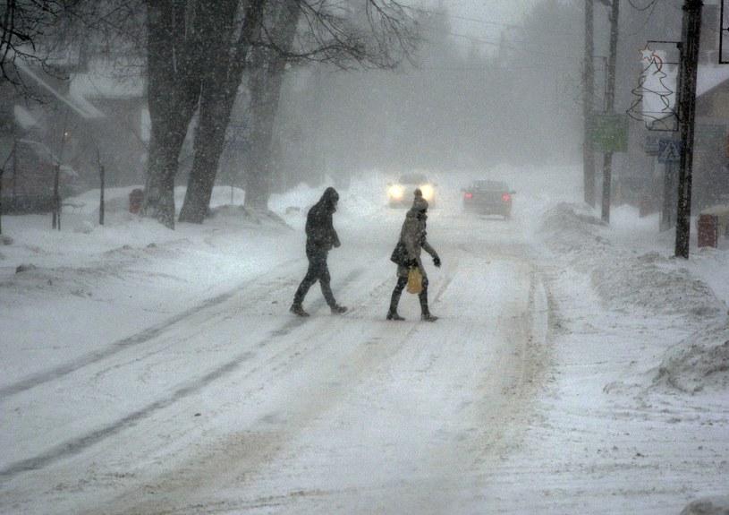 Zima na Podkarpaciu /Wojciech Zatwarnicki /Reporter
