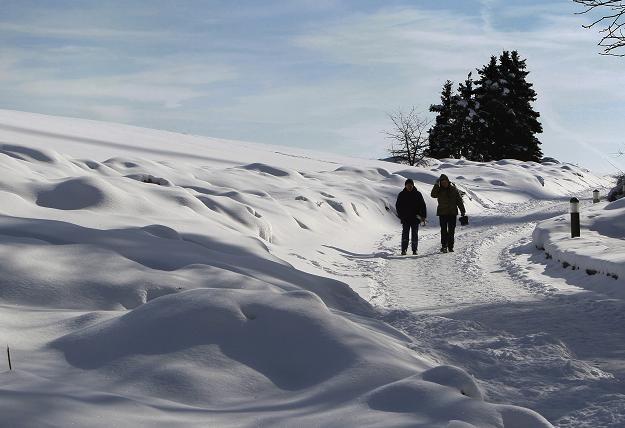 Zima na Ukrainie /PAP/EPA
