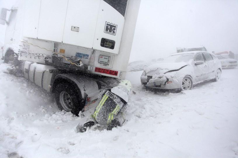 Zima nie daje za wygraną /Gyorgy Varga /PAP/EPA