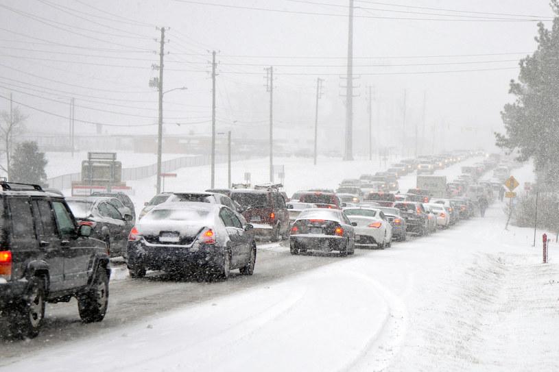 Zima stulecia szaleje w USA /AFP
