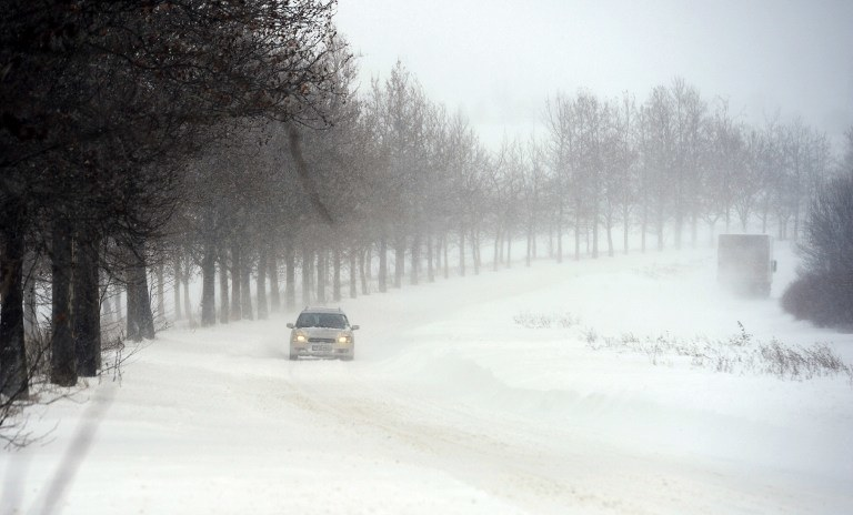 Zima w Bułgarii /AFP