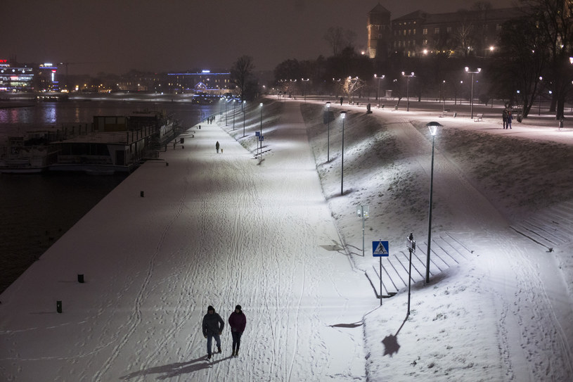 Zima w Krakowie /ANDRZEJ BANAS / POLSKA PRESS /East News