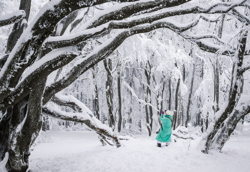 Zima w Niemczech /PAP/EPA