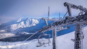 Zima w Tatrach. Na Kasprowym Wierchu 1,5 metra śniegu