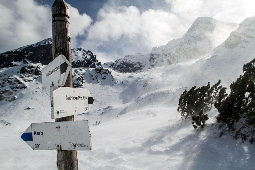 Zima w Tatrach /Tomasz RYTYCH /Reporter