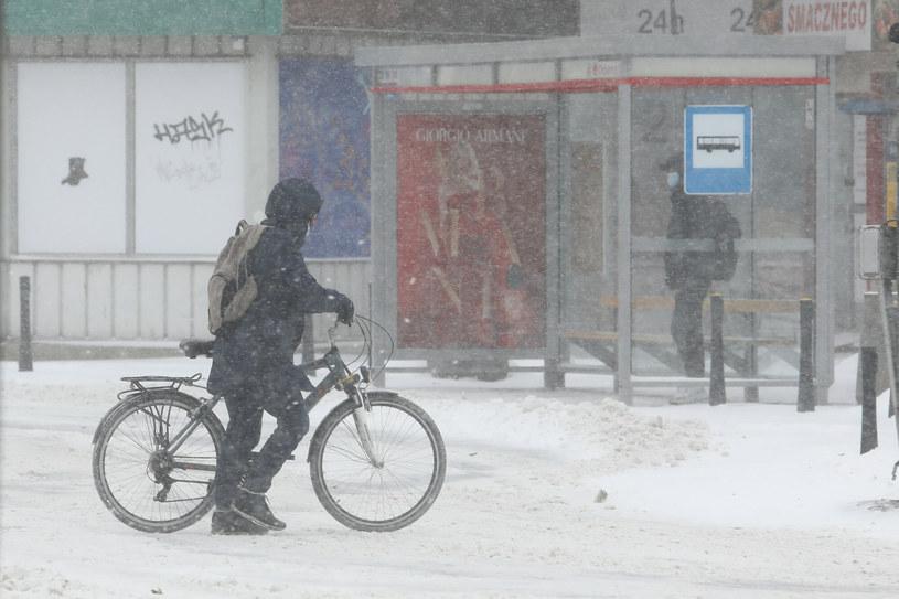 Zima w Warszawie /Tomasz Jastrzebowski/ /Reporter