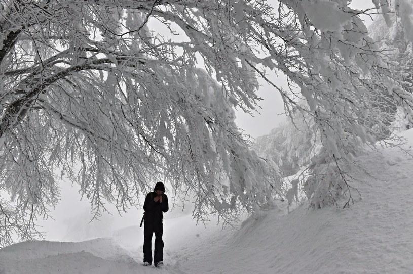 Zima we Włoszech /MAURIZIO DEGL'INNOCENTI /PAP/EPA