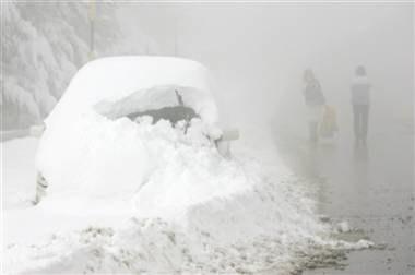 Zima wszystkim daje się we znaki /AFP