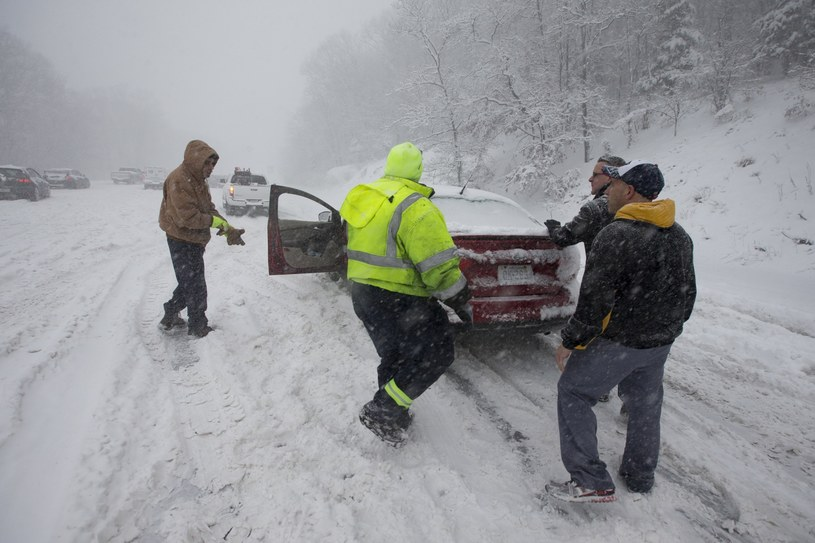 Zima zaatakowała w USA /PAP/EPA