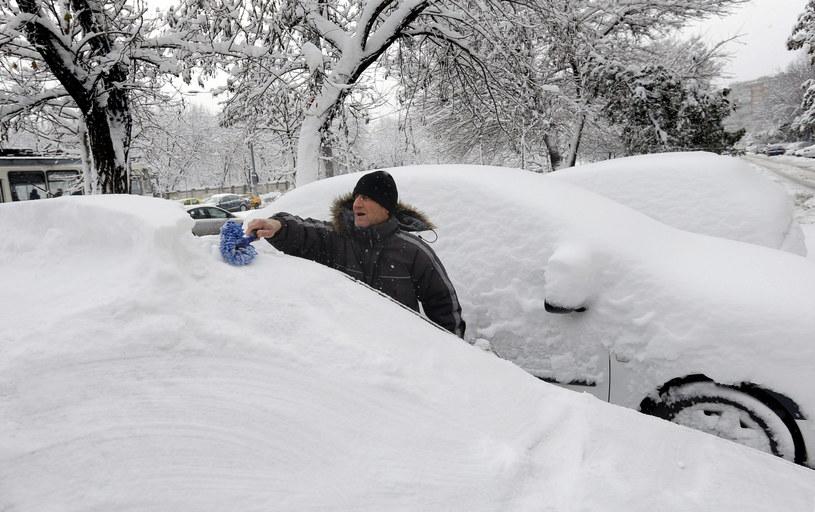 Zima zaatakowała /PAP/EPA