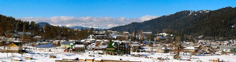 Zimowa panorama Bakuriani, Gruzja /Flickr / Gogi Bedenashvili /