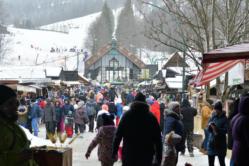 Zimowe ferie w Zakopanem (11.02.2020) /Maciek.Jonek/REPORTER /Reporter