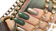 Zimowy manicure - głębia koloru i odważne zdobienia