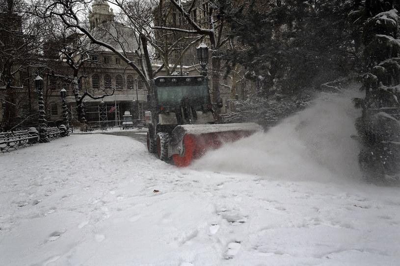 Zimowy paraliż w USA /AFP