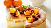 Zimowy sernik z mandarynkami