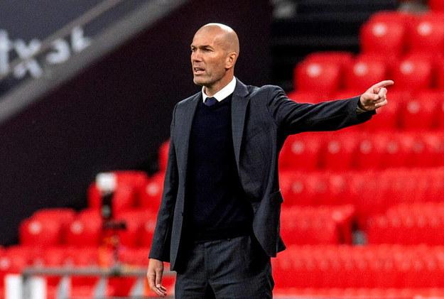 Zinedine Zidane chce odejść z Realu Madryt /JAVIER ZORRILLA /PAP/EPA