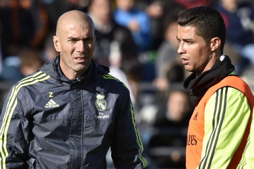 Zinedine Zidane i Cristiano Ronaldo /AFP