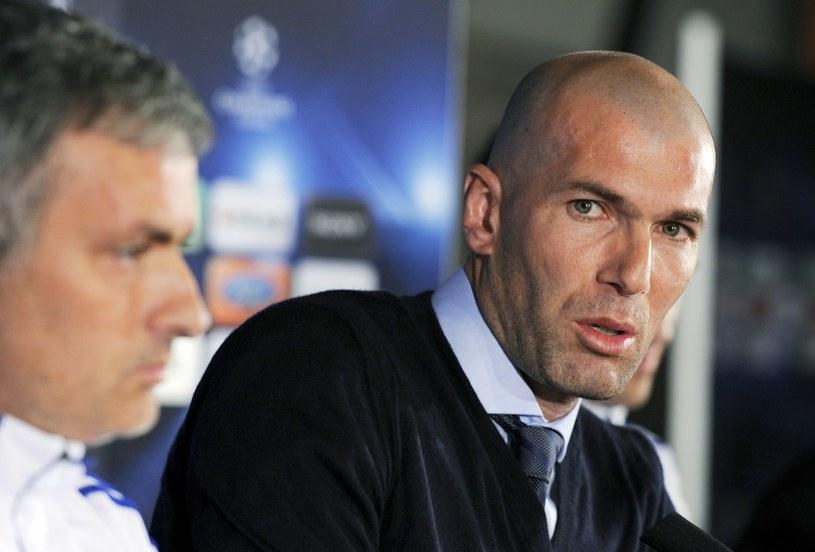 Zinedine Zidane i Jose Mourinho /AFP