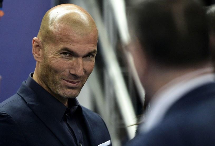 Zinedine Zidane ma powody do zadowolenia /AFP