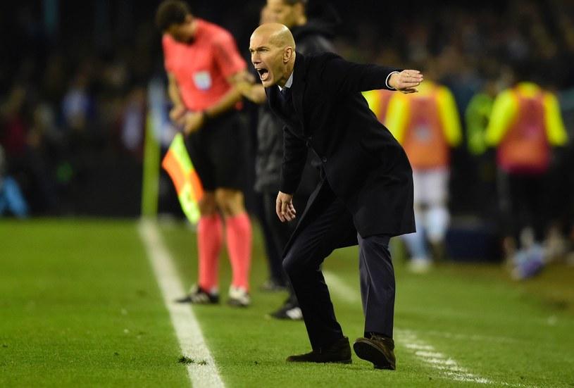Zinedine Zidane, trener Realu /AFP