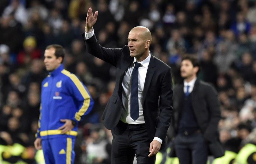 Zinedine Zidane znakomicie rozpoczął pracę w Madrycie /AFP