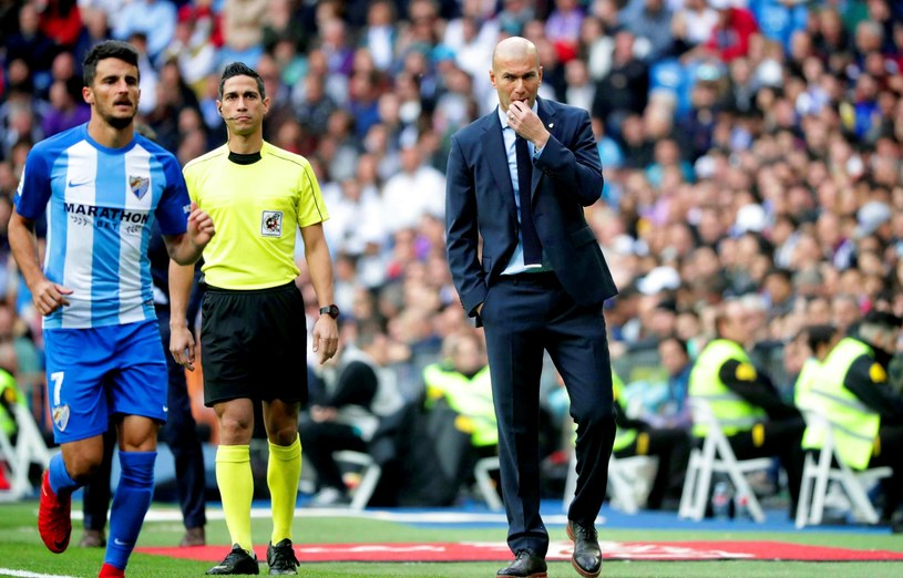Zinedine Zidane /PAP/EPA