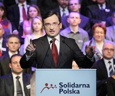 Ziobro: Rząd zajmuje się kiwaniem obywateli