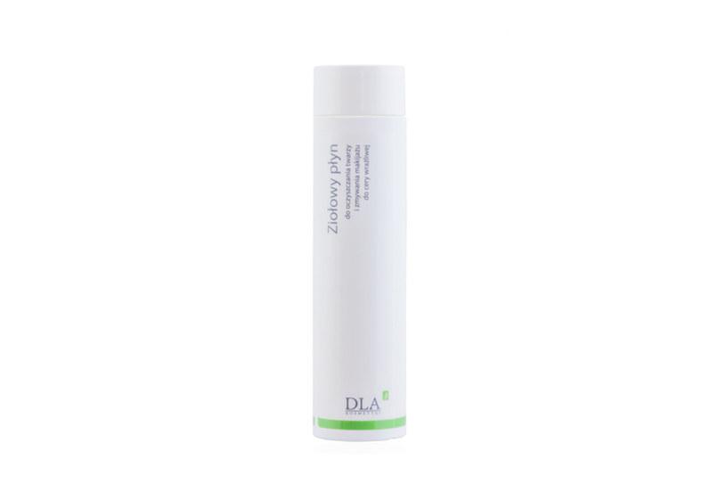 Ziołowy płyn do oczyszczania twarzy i zmywania makijażu do cery wrażliwej; Kosmetyki DLA /materiały prasowe