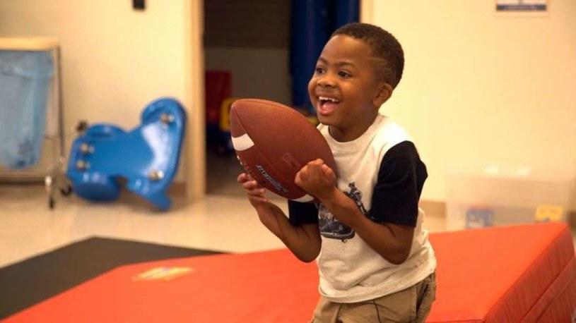 Zion Harvey stara się dzisiaj żyć normalnie /fot. Szpital Dziecięcy w Filadelfii /materiały prasowe