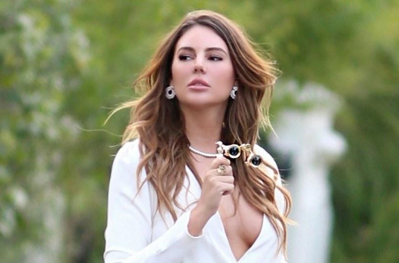 Zita Vass lubi szokować. Kiedy wrzuciła do sieci fotkę bez góry od bikini, w Internecie zawrzało! /SplashNews.com /East News