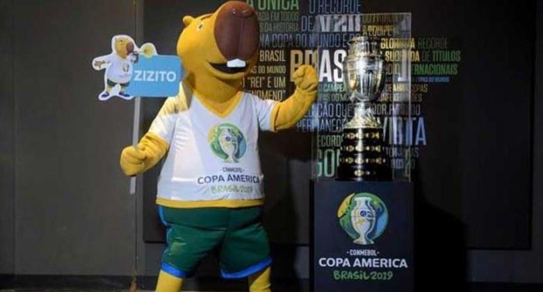 Zizto oficjalną maskotką Copa America 2019 /AFP