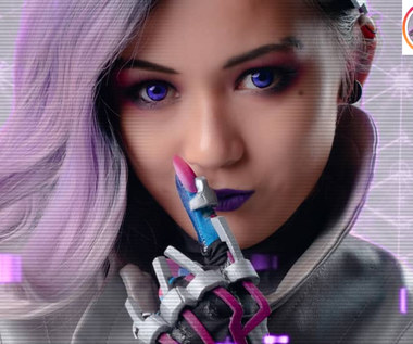 Zjawiskowy cosplay Sombry z Overwatch