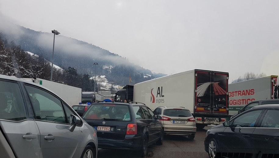 Zjazd z A22 od strony Bolzano /Gorąca Linia RMF FM