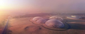 Zjednoczone Emiraty Arabskie budują marsjańskie miasto na Ziemi