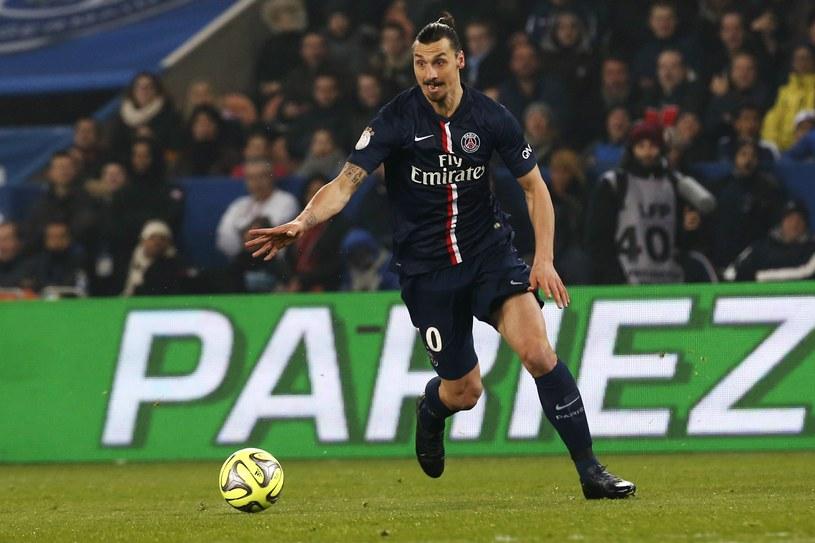 Zlatan Ibrahimović, gwiazda PSG /AFP