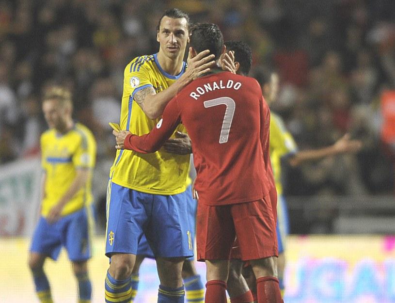 Zlatan Ibrahimović i Cristiano Ronaldo /AFP