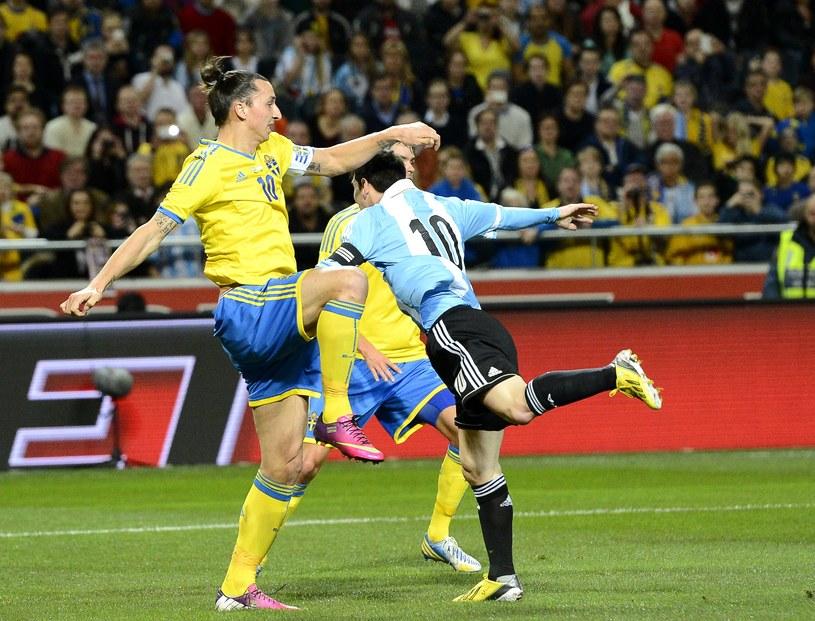 Zlatan Ibrahimović i Leo Messi /AFP