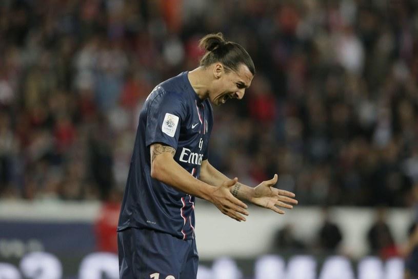 Zlatan Ibrahimović nie jest zadowolony z planów PSG /AFP