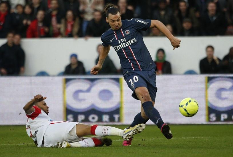 Zlatan Ibrahimović, piłkarz Paris Saint Germain /AFP