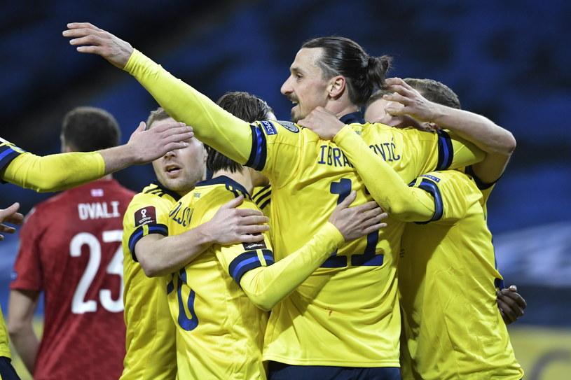Zlatan Ibrahimović w reprezentacji Szwecji /Janerik Henriksson /PAP/EPA