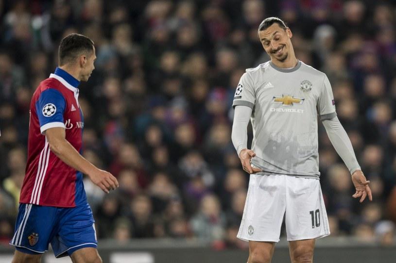 Zlatan Ibrahimović wrócił do gry po kontuzji /PAP/EPA