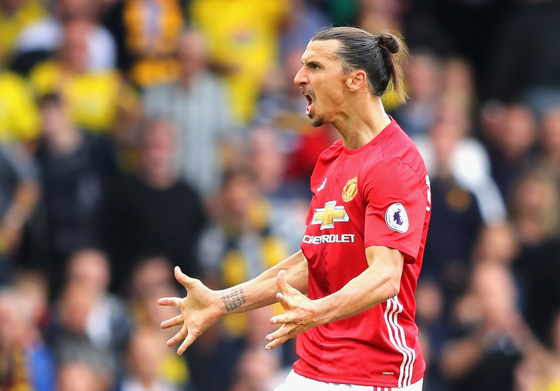 Zlatan Ibrahimović z Manchesteru United /Richard Heathcote /Getty Images