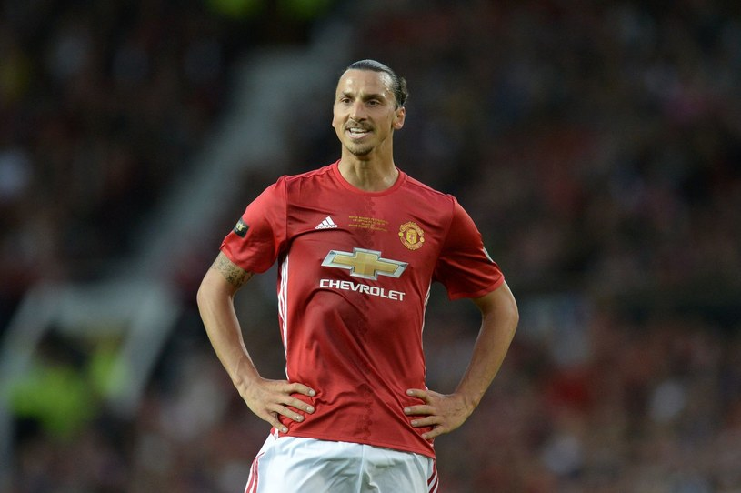 Zlatan Ibrahimović z Manchesteru United /AFP