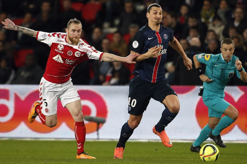 Zlatan Ibrahimović znów był nie do zatrzymania /AFP