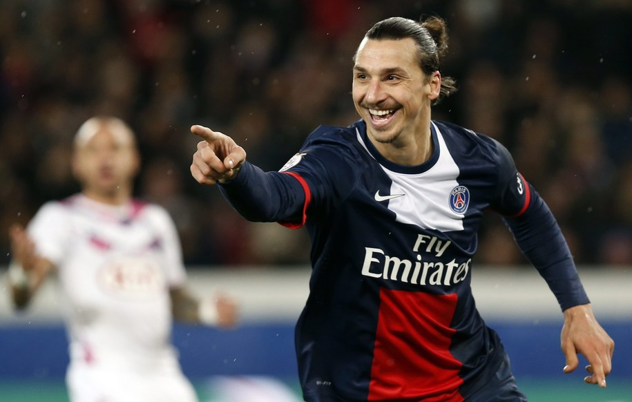Zlatan Ibrahimović /Christophe Karaba /PAP/EPA