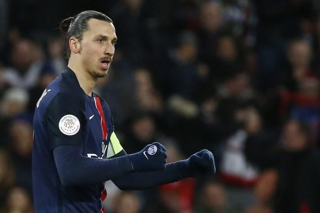 Zlatan Ibrahimović /PAP/EPA