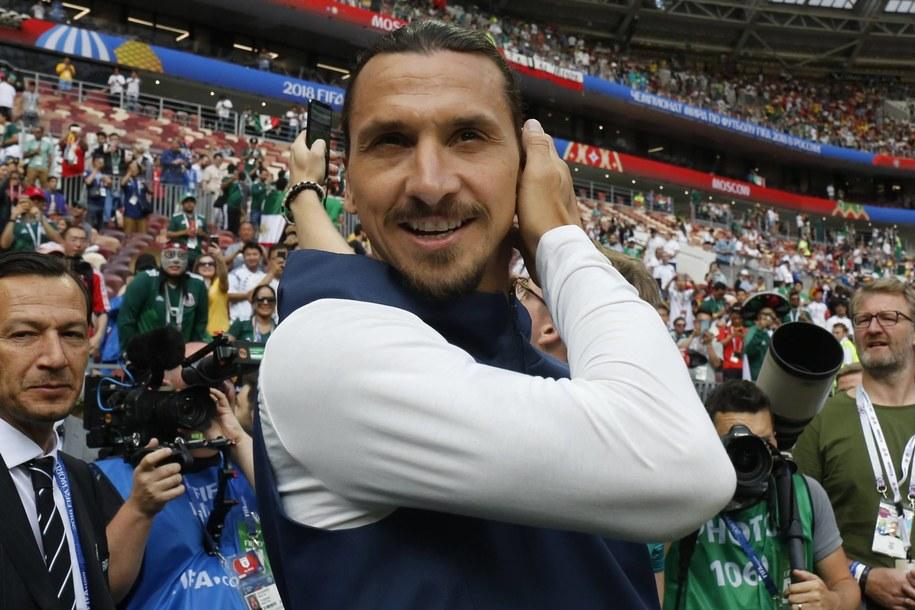 Zlatan Ibrahimovic /Szwarc Henri/ABACA /PAP/EPA